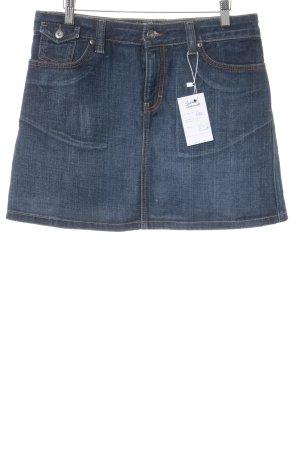 Tommy Hilfiger Jeansrock dunkelblau Jeans-Optik