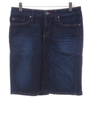 Tommy Hilfiger Jeansrock dunkelblau schlichter Stil