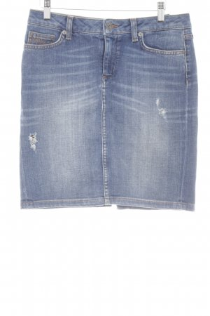 Tommy Hilfiger Jeansrock mehrfarbig Casual-Look