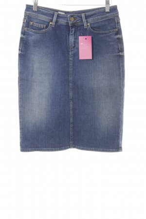 Tommy Hilfiger Jeansrock stahlblau Casual-Look