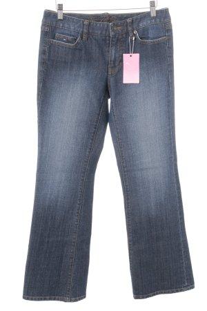 Tommy Hilfiger Jeansschlaghose dunkelblau