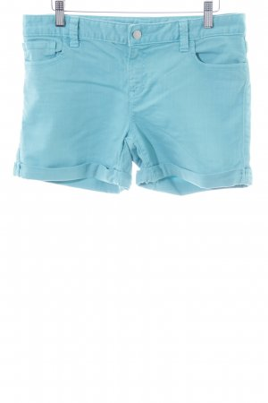 Tommy Hilfiger Jeansshorts türkis Casual-Look