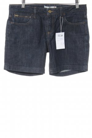 Tommy Hilfiger Jeansshorts dunkelblau Jeans-Optik