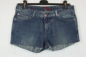Tommy Hilfiger Short en jean bleu coton