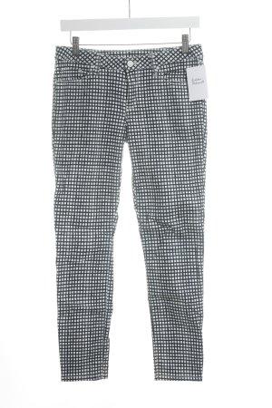 Tommy Hilfiger Jegging bleu foncé-blanc motif à carreaux style mode des rues