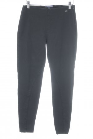 Tommy Hilfiger Jeggings schwarz Webmuster Casual-Look