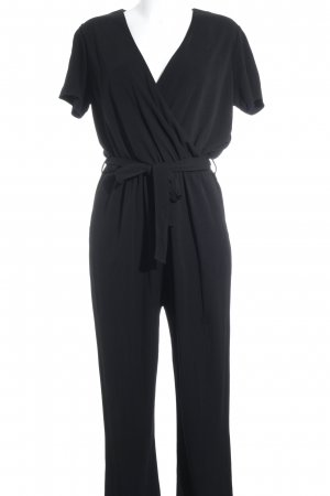 Tommy Hilfiger Jumpsuit schwarz Business-Look