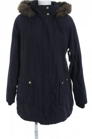 Tommy Hilfiger Hooded Coat dark blue casual look
