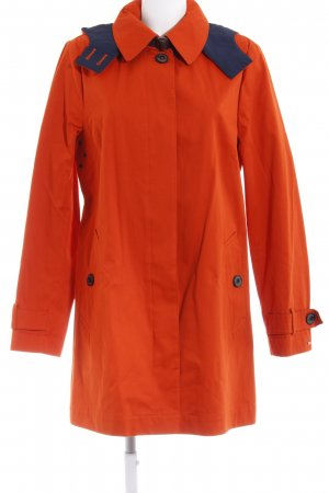 Tommy Hilfiger Hooded Coat dark orange casual look