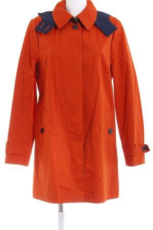 Tommy Hilfiger Manteau à capuche orange foncé style décontracté