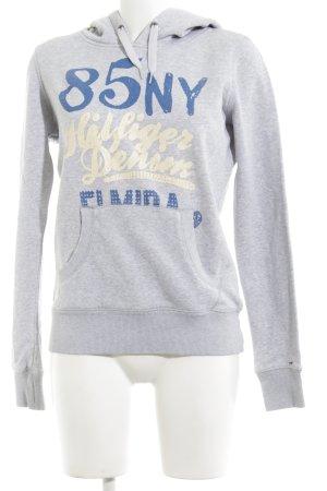 Tommy Hilfiger Kapuzensweatshirt meliert Casual-Look
