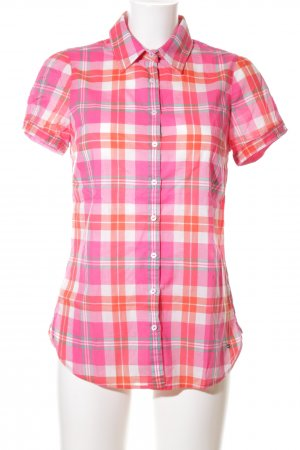 Tommy Hilfiger Karobluse pink Allover-Druck Casual-Look