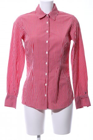 Tommy Hilfiger Checked Blouse red-white check pattern casual look