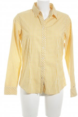 Tommy Hilfiger Geruite blouse geruite print casual uitstraling