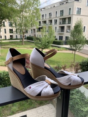 Tommy Hilfiger Keil-Sandalette Elena espadrille ausverkauft