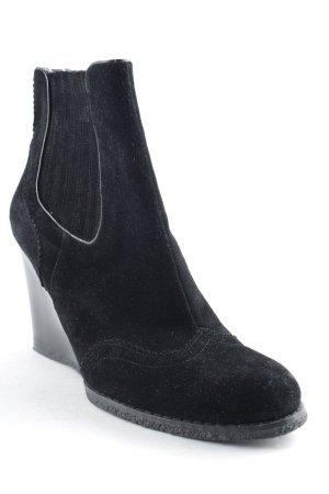 Tommy Hilfiger Keil-Stiefeletten schwarz Elegant