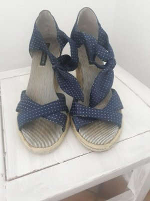 Tommy Hilfiger Wedge Sandals white-blue