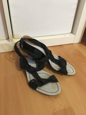 Tommy hilfiger Keilabsatz dunkelblau Pumps Schuhe gr 40