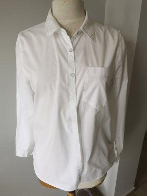 Tommy Hilfiger Klassisches Hemd Bluse weiß Gr L