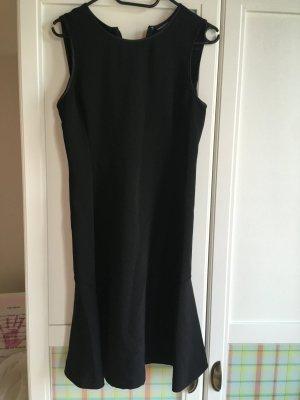 Tommy Hilfiger A-lijn jurk zwart Gemengd weefsel