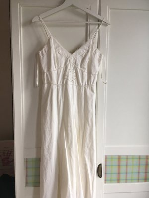 Tommy Hilfiger A Line Dress natural white cotton