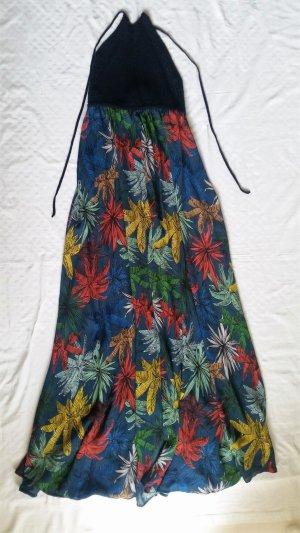 Tommy Hilfiger Maxi abito multicolore Tessuto misto
