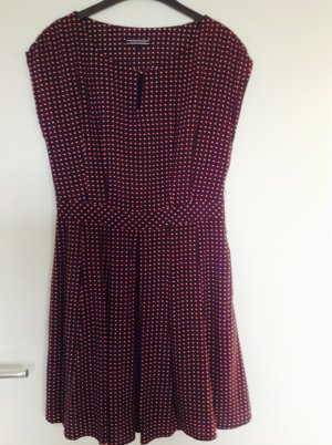 Tommy Hilfiger Kleid COLORADO PRT SS blau weiß rot wie neu Gr.6 (ent. 36 ) S