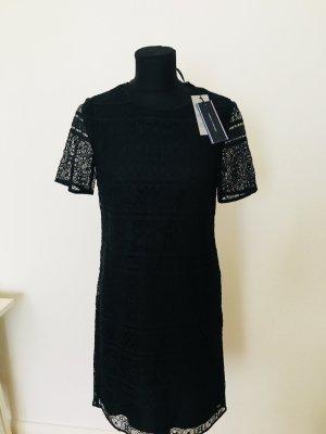 Tommy Hilfiger Vestido de encaje negro