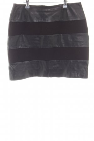 Tommy Hilfiger Faux Leather Skirt black casual look