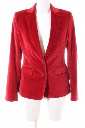 Tommy Hilfiger Kurz-Blazer rot Business-Look