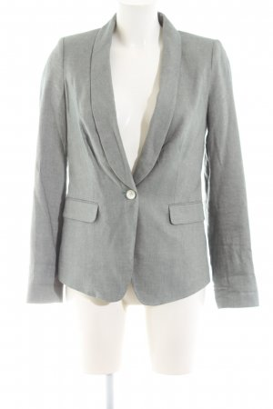 Tommy Hilfiger Kurz-Blazer hellgrau Business-Look
