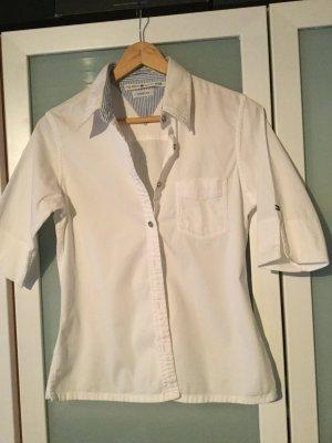 Tommy Hilfiger-kurzärmelige Hemdbluse