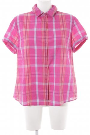 Tommy Hilfiger Kurzarm-Bluse Karomuster Country-Look