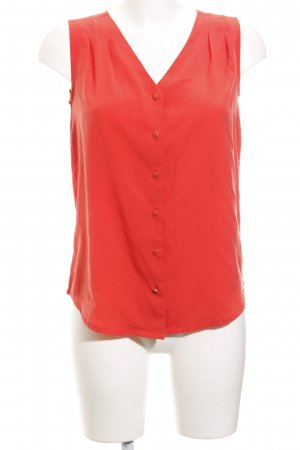 Tommy Hilfiger Kurzarm-Bluse neonorange Casual-Look