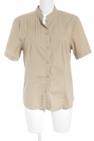 Tommy Hilfiger Kurzarm-Bluse nude Casual-Look
