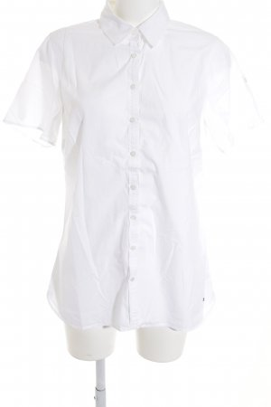 Tommy Hilfiger Blouse met korte mouwen wit casual uitstraling