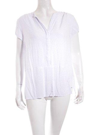 Tommy Hilfiger Blusa de manga corta blanco-azul claro estampado a lunares