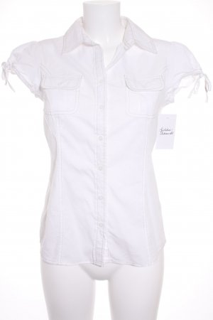 Tommy Hilfiger Short Sleeved Blouse white classic style