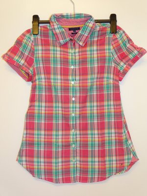 Tommy Hilfiger Checked Blouse multicolored cotton