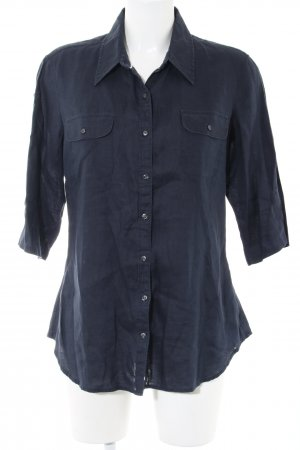 Tommy Hilfiger Short Sleeve Shirt blue casual look