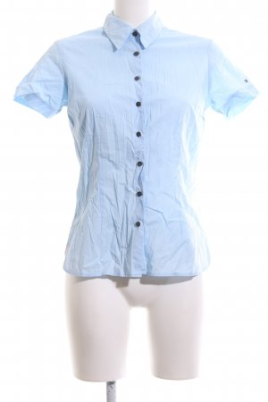 Tommy Hilfiger Kurzarmhemd blau Business-Look