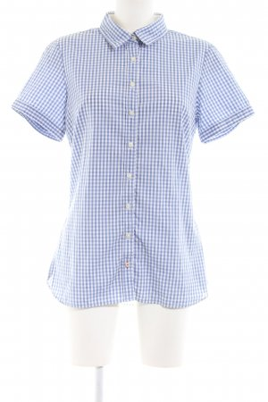 Tommy Hilfiger Short Sleeve Shirt blue allover print business style