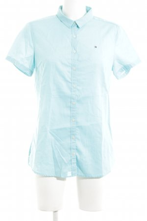 Tommy Hilfiger Short Sleeve Shirt turquoise business style