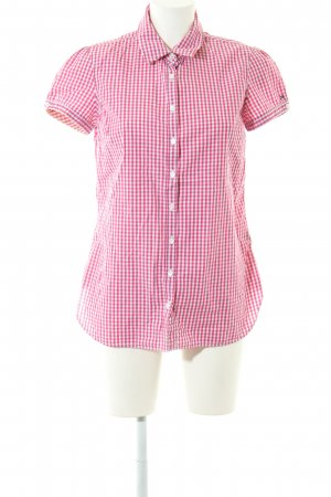Tommy Hilfiger Short Sleeve Shirt red-white check pattern casual look