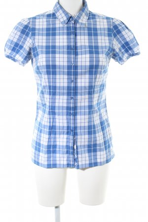 Tommy Hilfiger Short Sleeve Shirt blue-white allover print business style