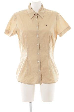Tommy Hilfiger Short Sleeve Shirt beige business style