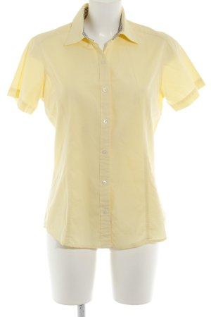 Tommy Hilfiger Camicia a maniche corte giallo pallido stile casual