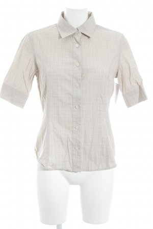 Tommy Hilfiger Short Sleeve Shirt cream check pattern business style