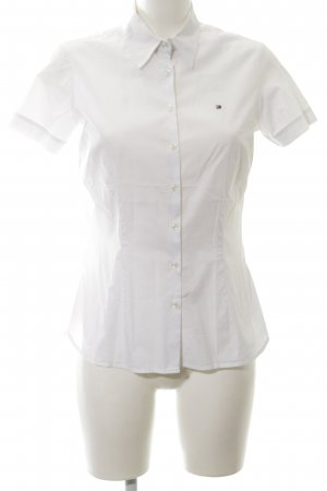 Tommy Hilfiger Camisa de manga corta blanco estilo «business»