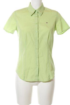 Tommy Hilfiger Camisa de manga corta verde look casual
